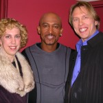 Marcia Baczynski, Motel Williams and myself in New York City after we taped his show in New York!