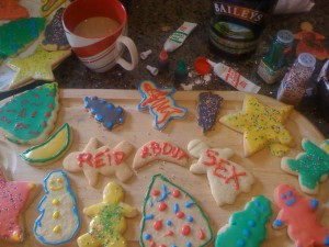 ReidAboutSex Christmas Cookies
