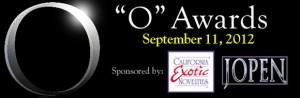 ANE's O Awards 2012 banner