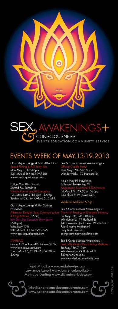 Sex and Awakening Toronto 2013 poster