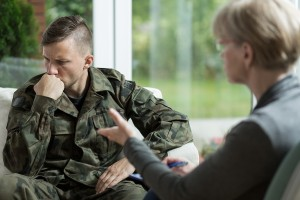War Veteran With Problems